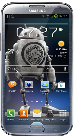 Omega ROM v16 for Galaxy Note 2 GT-N7100 - NaldoTech