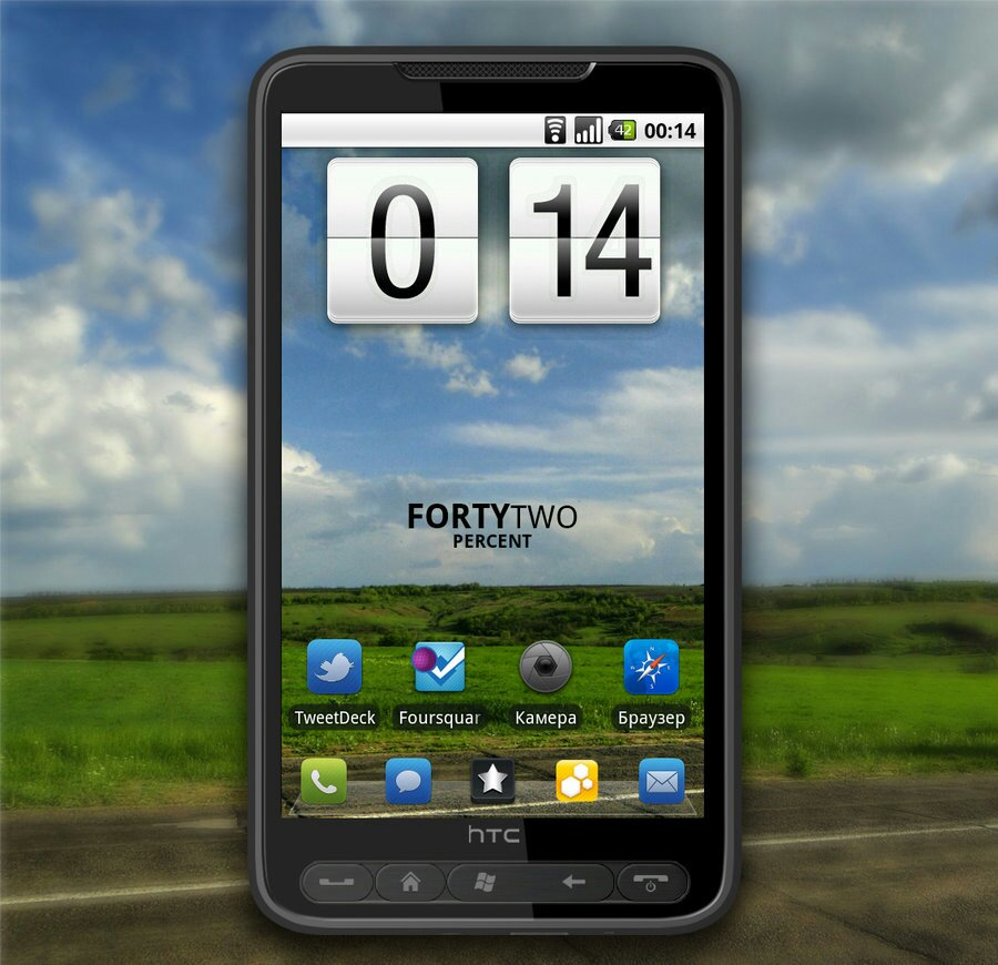 Install Android 4.4 KitKat ROM on HTC HD2