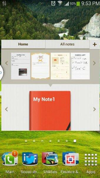 download galaxy note 3 action memo scrapbook for galaxy s4 naldotech