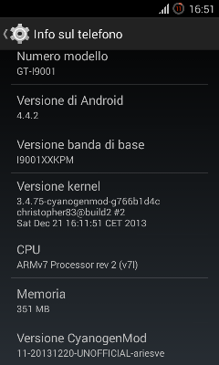 Fully Working CyanogenMod 11 KitKat 4 4 for Galaxy S Plus
