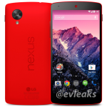 Probably Official Red Nexus 5 Gets Leaked