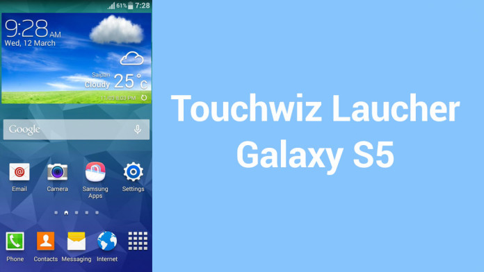 Install Galaxy S5 Launcher Amp Weather Widget On Galaxy S3