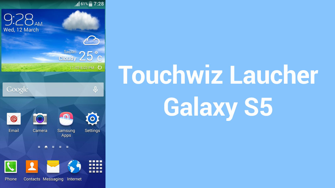 Install Galaxy S5 Launcher & Weather Widget on Galaxy S3 - NaldoTech