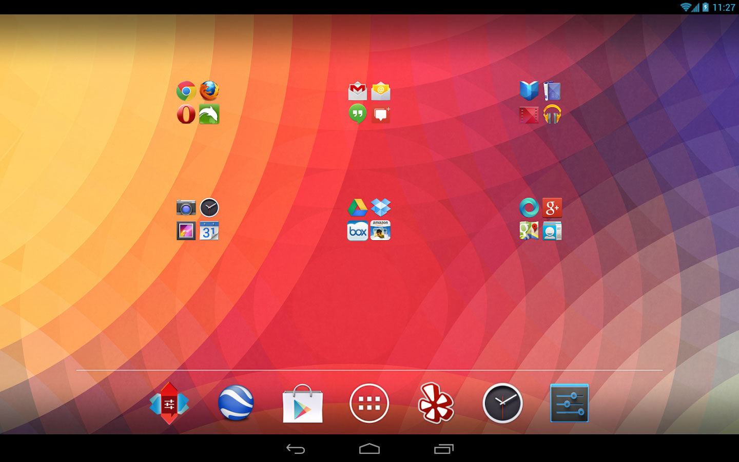stock-android-launcher