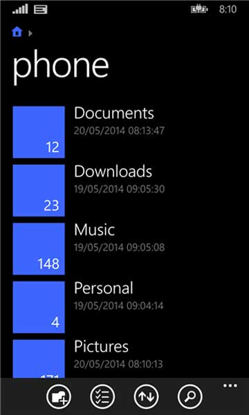 File-Manger-Official-Windows-Phone-8.1