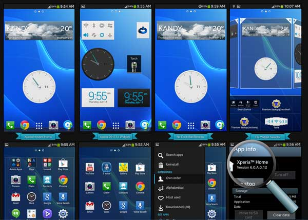 Download and Install Sony Xperia Z Ultra Launcher - NaldoTech