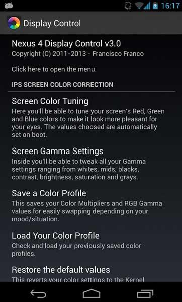... your Nexus 5 display (calibrate the screen), follow the guide below