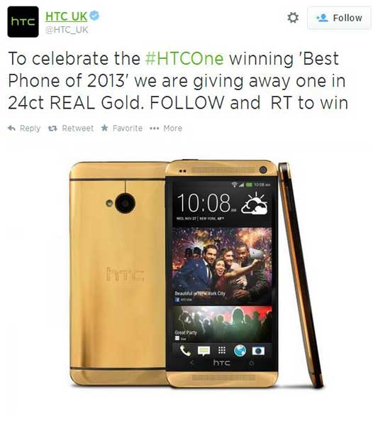 get-htc-one-gold-free