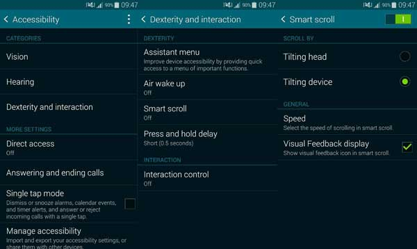 how-to-enable-smart-scroll-quick-glance-samsung-galaxy-s5