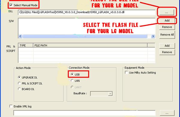 How To Flash Factory Images (Firmware) on LG Devices Using LG