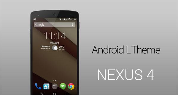 android l theme apps nexus 4