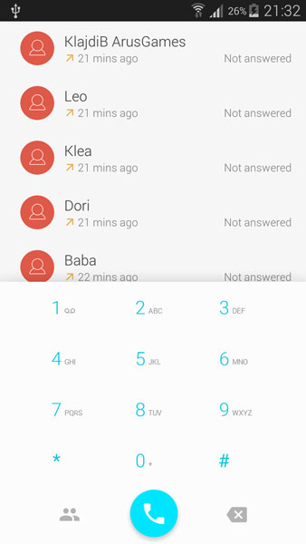 dialer android l apk