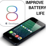 ios 8 battery life improve
