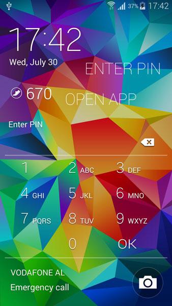 запуск приложений на экране блокировки Android