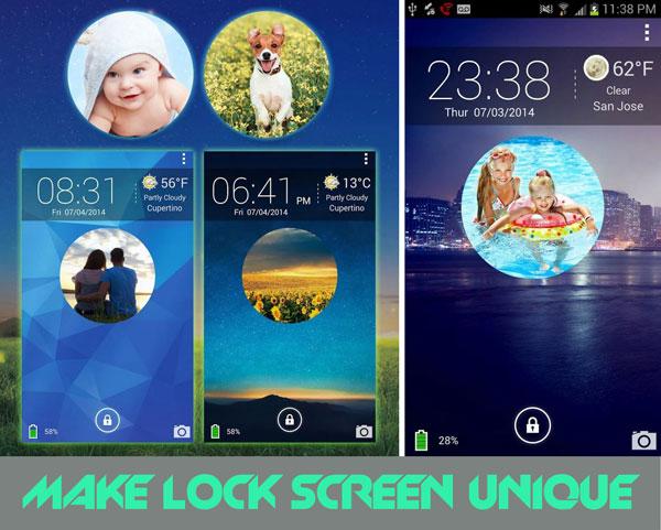 lock screen slideshow samsung galaxy