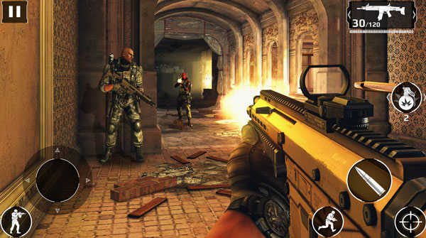 install modern combat 5 for android ios the best fps for mobile devices