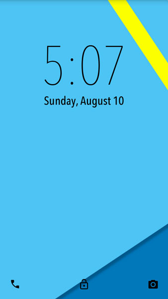 android l lock screen