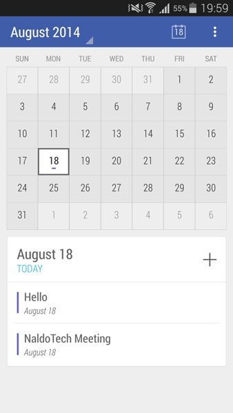 Material Design Calendar : Download calendar app with material design android l theme
