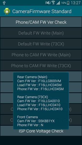 check firmware version galaxy s5