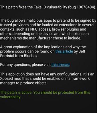 fake id vulnerability fix