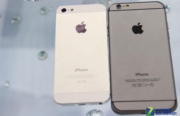 iphone 5s 6 body comparison