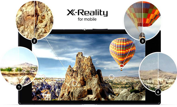 activate x-reality xperia devices