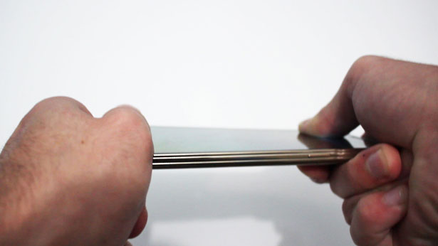 bend test galaxy s5 note 3 htc one m8 nokia