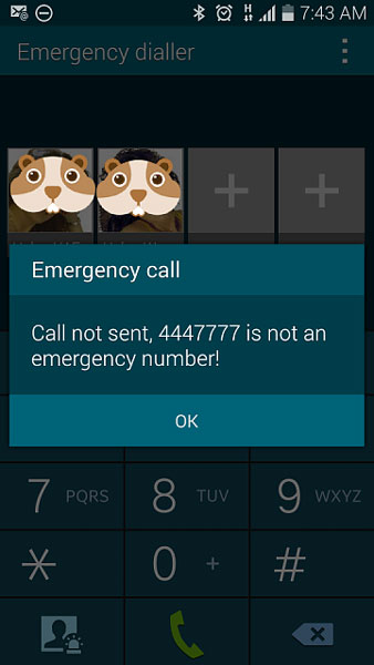 emergency calls only error fix galaxy s5