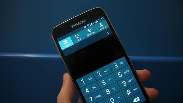 исправить проблему с телефонными сообщениями в галактике s5