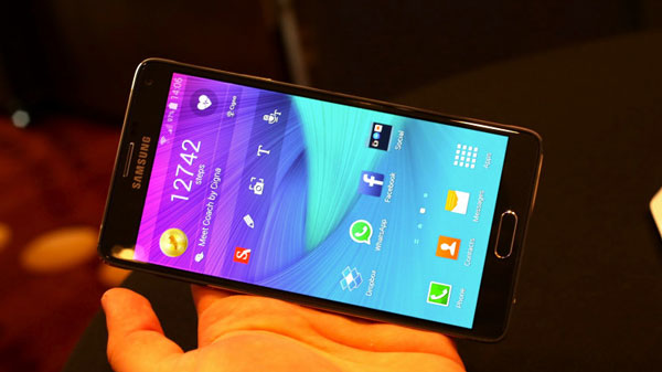 galaxy note 4 display review