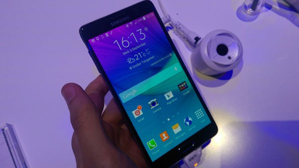 galaxy note 4 software features review