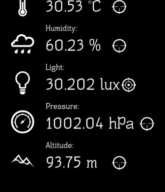 galaxy s5 note 3 sensors temperature humidity
