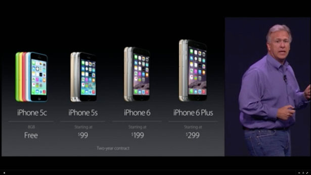 iphone 6 official price
