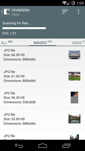 recover deleted photos songs videos android 2014
