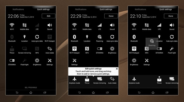 Download & Install Xperia Z3 System UI Theme on Xperia Z2
