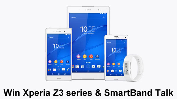 win xperia z3 compact tablet free giveaway