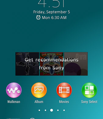 Download Xperia Z3 Launcher and Weather Widget - NaldoTech