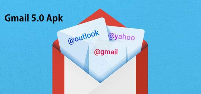 Gmail 5.0 apk material