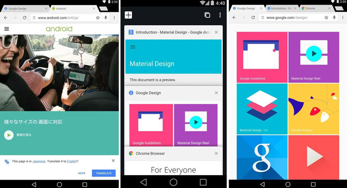 Download Chrome Beta v39 APK With Reader Mode & Limited