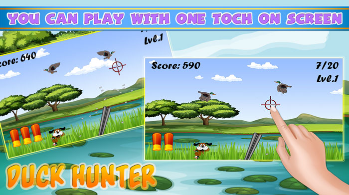duck shooting android