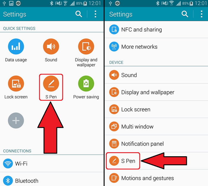 galaxy note 4 disable air command pop up
