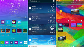 galaxy note 4 weather widget s5 zip download