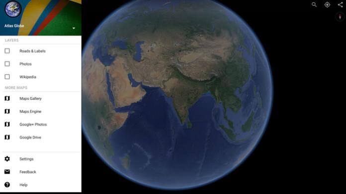 Гугл эрт планета земля онлайн.