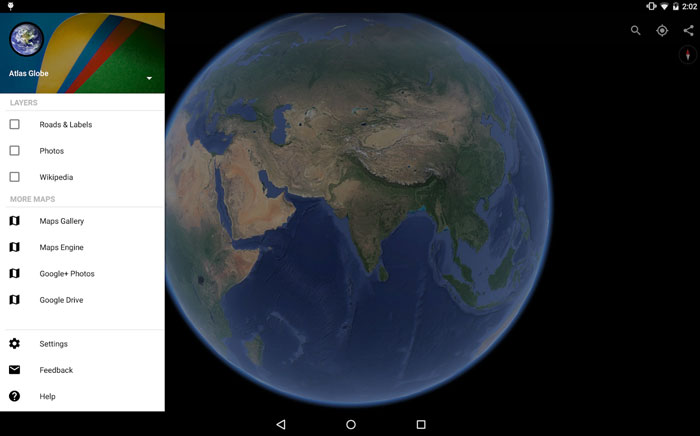 google earth v8 apk android 3d