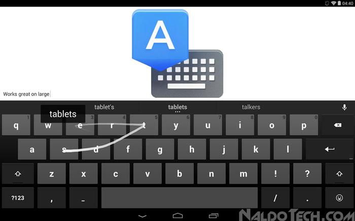 google keyboard v3.2 8 languages settings menu
