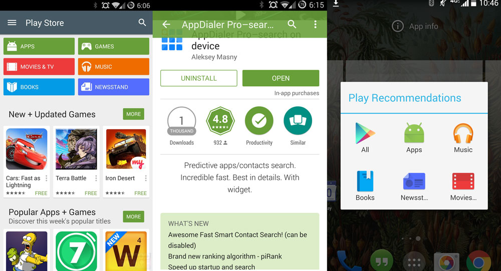 Download Google Play Store v5 0 37 APK Full Material Design