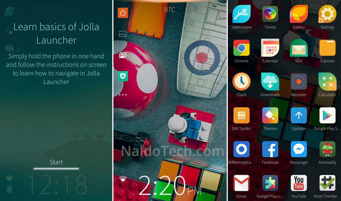 Download Jolla Launcher Sailfish OS APK - NaldoTech