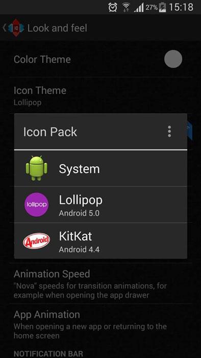nova launcher v3.2 icon pack lollipop material