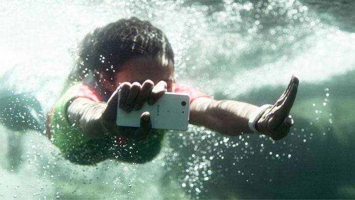 xperia z3 underwater camera