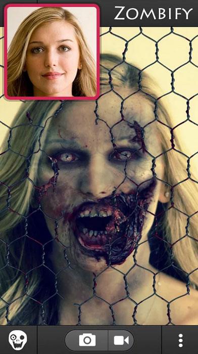 zombie booth 2 halloween app 2014